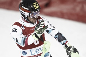 Alpine Skiing: Hirscher in demonstration in Levi