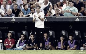 """Marcelino: """"Hemos sabido sobreponernos a las dificultades y llevarnos los tres puntos"""""""