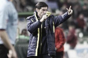 """Marcelino: """"De lograr la victoria, nos quedaríamos a orillas de nuestro objetivo"""""""