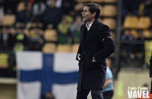 Marcelino: ''Ganar al Celta sería una gran inyección de moral''