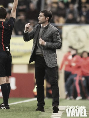 """Marcelino: """"Estamos muy orgullosos del trabajo de nuestros jugadores"""""""