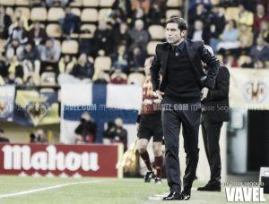 Marcelino, satisfecho con la victoria ante el Wolfsburgo
