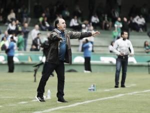 Apesar de derrota,Marcelo Oliveira acredita que Coritiba vai se recuperar na tabela