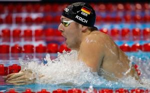Nuoto, Trials tedeschi: Koch vince a rana, Graf veloce a dorso, Kusch domina i 100 farfalla