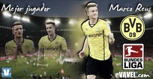 Mejor jugador de la Bundesliga 2013/2014: Marco Reus