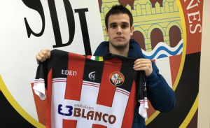 Marcos Fernández encuentra acomodo en la SD Logroñés