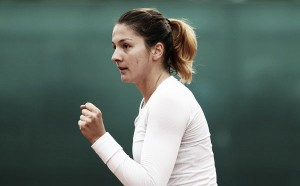 Margarita Gasparyan happy to be back playing tennis again
