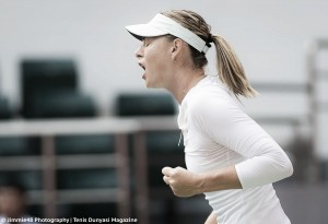 WTA Tianjin: Maria Sharapova eases past Stefanie Voegele in straight sets