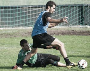 Álvaro y Oriol, no completan el entrenamiento