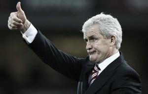 Stoke boss Mark Hughes targeted by Chelsea