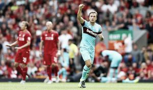 Liverpool 0-3 West Ham: Hammering for Liverpool at Anfield