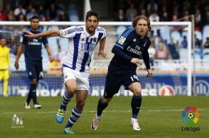 Real Sociedad - Real Madrid: puntuaciones Real Sociedad, jornada 36 de la Liga BBVA