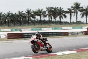 Honda da la estocada el último día de tests con Márquez al frente