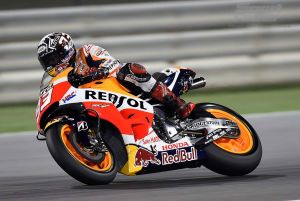 Marquez Fastest in First Free Practice of 2015 at Qatar