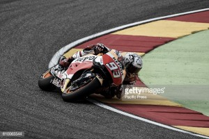 Carnage during MotoGP FP3 in Aragon as Marquez sets the fastest time