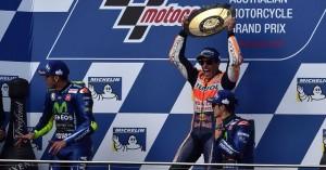 """Gp d'Australia. Marquez, una vittoria che sa di Mondiale: """"È stata una gara fantastica"""""""