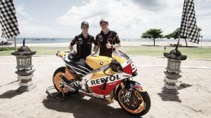 El Repsol Honda Team presenta la nueva moto en Indonesia