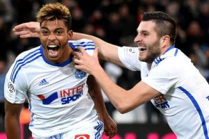 Marseille 2-1 Guingamp: OM leave it late to keep the pressure on Ligue 1 leaders Lyon