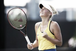 Fed Cup: Marta Kostyuk shocks Daria Gavrilova to keep Ukraine in contention