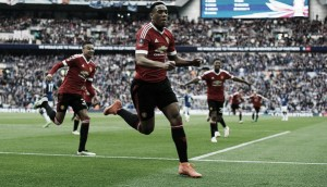 Everton 1-2 Manchester United: Martial's last minute winner sends the Reds through to the final
