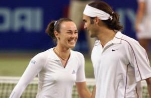 Federer - Hingis, il doppio è realtà