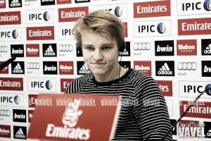 "Ødegaard: ""Es increíble marcar mi primer gol aquí"""