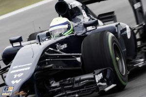 Felipe Massa, el piloto más rápido en la cuarta jornada