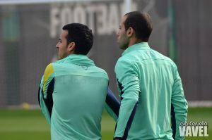 Mascherano vuelve a entrenar con el grupo
