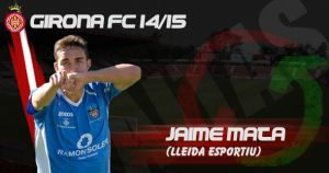 Jaime Mata, primer fichaje del Girona FC