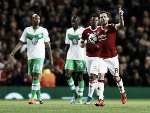 Manchester United 2-1 VfL Wolfsburg: Smalling effort the difference as Red Devils edge out Wolves