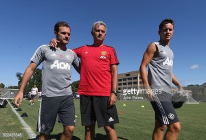 Juan Mata returns to Man Utd training after slight injury