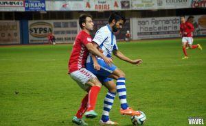 Antonio Matas, el delantero que buscaba el CF Fuenlabrada