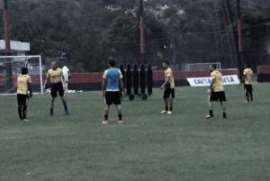 Ainda sem goleiro Luiz, Criciúma finaliza preparação para encarar Fluminense