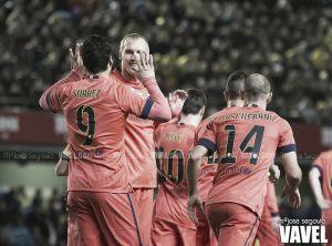 Lasdudas oscurecenla victoria del Barcelona