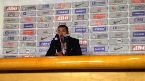 """Gustavo Matosas: """"Tengo que reconocer el trabajo defensivo de mi equipo"""""""