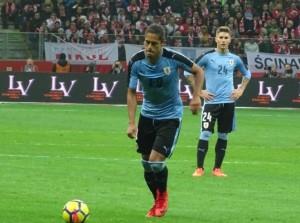 Mauricio Lemos debuta con Uruguay
