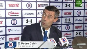 "Pedro Caixinha:""A mí no me afecta jugar en el Azul ni ser abucheado"""
