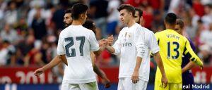 Marco Asensio y Borja Mayoral debutan en pretemporada con el Real Madrid
