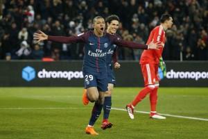 باريس سان جيرمان يحسم الكلاسيكو بثلاتية أمام مارسيليا
