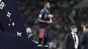 Kylian Mbappé, el mejor joven del Mundial