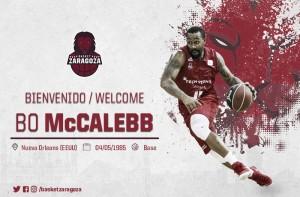 Bo McCalebb vuelve a Zaragoza