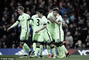Chelsea 0-3 Manchester City: Aguero hat-trick humbles Hiddink's side