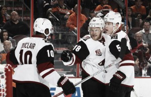 Arizona Coyotes losing streak ends with win against Philadelphia Flyers
