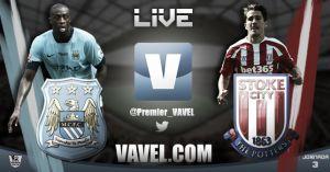 Manchester City vs Stoke City en vivo y en directo online