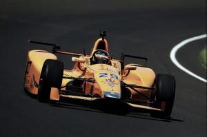 Alonso vuela en Indianápolis