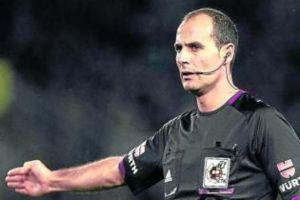 Álvarez Izquierdo designado para arbitrar el Málaga CF - Rayo Vallecano