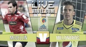 Resultado Medellín vs Millonarios por la Liga Águila 2016-1 (1-0)