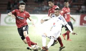 Historial: saldo rojo de Medellín ante Millonarios