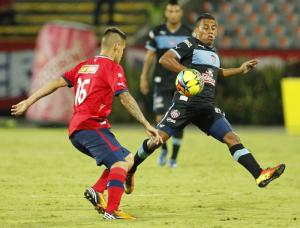 Resultado Medellín vs. Junior en la Liga Postobón 2014-I (2-2)