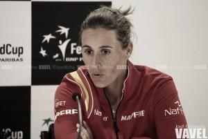 """Anabel Medina: """"Las tenistas tienen buena disposición, les apetece jugar"""""""